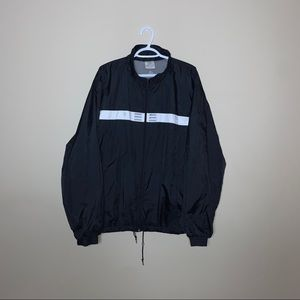 Vintage Black Adidas Windbreaker